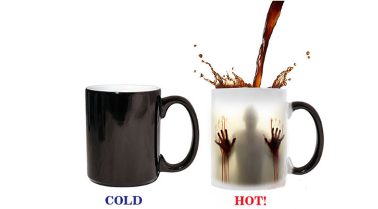 The walking dead color changing 11oz  Ceramic Mug (Heat Sensitive)