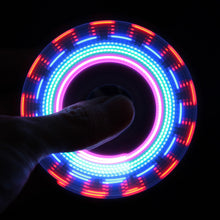 LED Rainbow Light Fidget Spinner