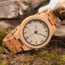 BOBO BIRD Bamboo Wooden Watch for Men