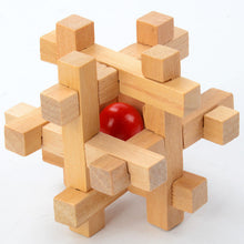 Many Unique 3D Wooden Puzzles