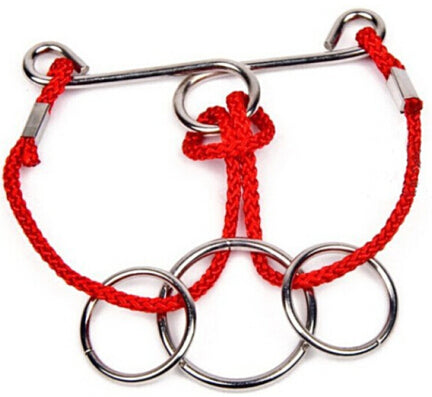 Metal Rings & Rope Puzzle