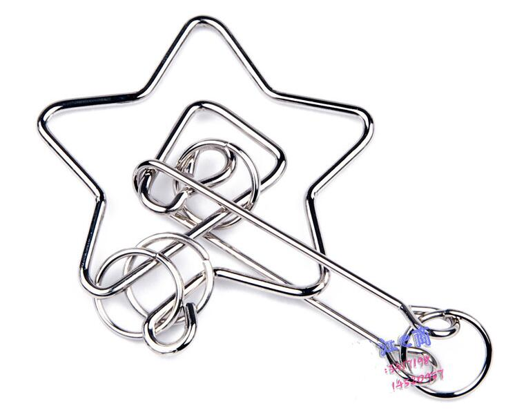 Star Shaped Metal Puzzle