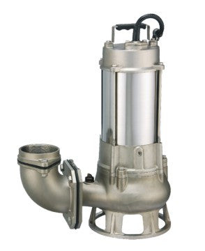 2 HP Stainless Steel Submersible Pump (316SS) 230V/3PH