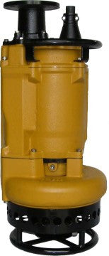 "10 HP Submersible Slurry Pump (HiCr internals) 460V/3PH (4"" Discharge) with agitator"