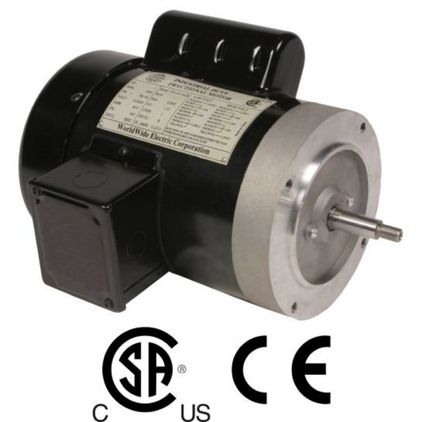 1/2HP/3600/115/208-230V/1PH Motor  Frame 56J