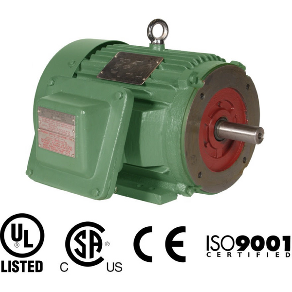 200HP/1800/208-230V/460V/3PH Explosion Proof/Inverter Duty/Premium Efficiency Motor