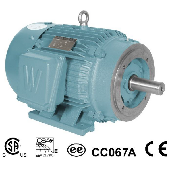 1HP/1200/208-230/460 Motor  Frame 145TC