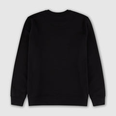 BLACK ON BLACK PUFF PRINT SWEATSHIRT + ISLES