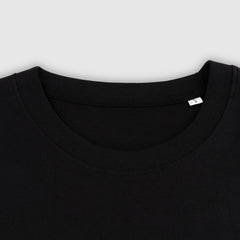 GREEN LOGO PUFF PRINT BLACK T-SHIRT + ISLES