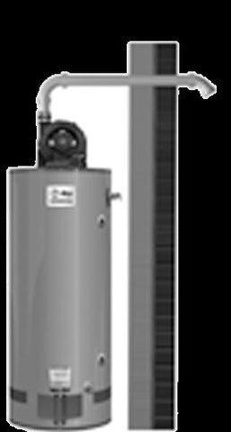 RHEEM GPV75-75FV-2 75GAL NATURAL GAS COMMERCIAL WATER HEATER LOW-NOX
