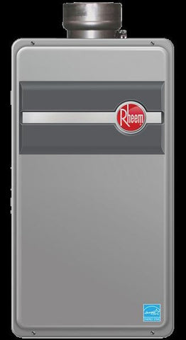 RHEEM RTG-199DV/584218 9.5 GALLONS PER MINUTE DIRECT VENT LIQUID PROPANE GAS WATER HEATER