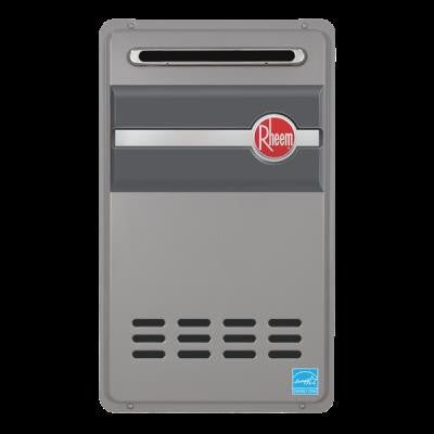 RHEEM RTG-95XLP 11-200MBTU OUTDOOR .82 EFFICIENCY LIQUID PROPANE GAS TANKLESS WATER HEATER