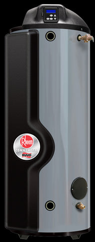 RHEEM GHE100ES-200-NG 100 GALLON 199KBTU NATURAL GAS COMMERCIAL WATER HEATER ULTRA HIGH-EFFICIENCY