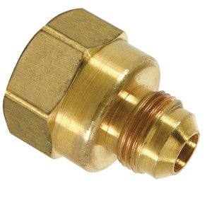 BRASSCRAFT F12-6-8 3/8ODX1/2 FLRXFIP BRASS FINE THREAD ADAPTER