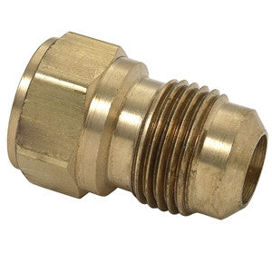 BRASSCRAFT 46-6-8 3/8ODX1/2 FLRXFIP BRASS FLARE FEMALE ADAPTER