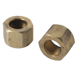 BRASSCRAFT 61-6-C 3/8OD CHROME PLATED COMPRESSION NUT