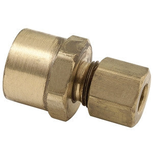 BRASSCRAFT 66-10-8X 5/8ODX1/2 COMPXFIP BRASS FEMALE ADAPTER