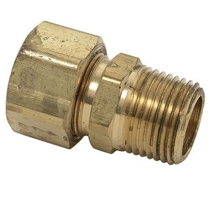 BRASSCRAFT 68-8-6X 1/2ODX3/8 COMPXMIP BRASS MALE ADAPTER