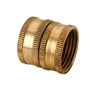 BRASSCRAFT HUS-12X 3/4 FHT BRASS FEMALE SWIVEL GARDEN HOSE UNION