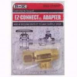 B&K 993-016NL 3/8 EZCONNECT SUPPLY STOP EXTENDER TEE LEAD FREE