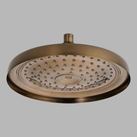 BRIZO 83310-BZ BRILLIANCE BRUSHED BRONZE TRADITIONAL CEILING MOUNT RAINCAN SHOWERHEAD