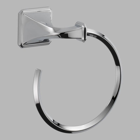 BRIZO 694630-PC POLISHED CHROME VIRAGE TOWEL RING