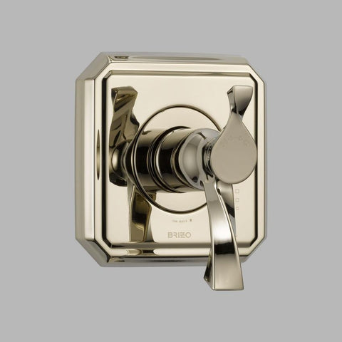 BRIZO T60030-PN POLISHED NICKEL VIRAGE TEMPASSURE 1 HOLE WALL MOUNT THERMOSTATIC SINGLE LEVER HANDLE VALVE TRIM ADA