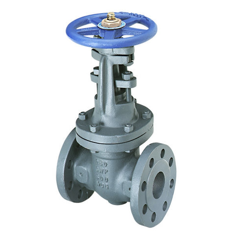 NIBCO F-667-O 4 FLG IRON BODY CLASS 250 SOLID RISING STEM GATE VALVE WITH OUTSIDE SCREW AND YOKE
