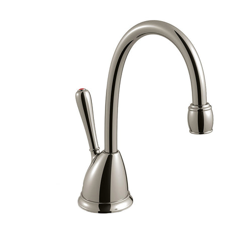 INSINKERATOR 44716A H-VIEWSN-SS TRANSCAPE SATIN NICKEL SINGLE LEVER SELF CLOSING HANDLE 60 CUP INSTANT HOT WATER DISPENSER