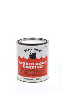 BLACK SWAN 04036 1GAL LIQUID ROOF COATING