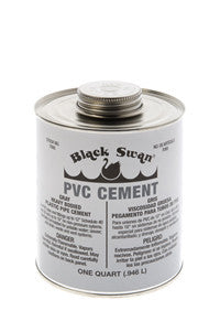 BLACK SWAN 07100 1GAL GRAY HEAVY BODIED PVC CEMENT