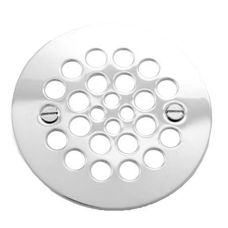 BRASSTECH 245/10B 4-1/4 OIL RUBBED BRONZE BRASS 2 HOLE SHOWER DRAIN STRAINER