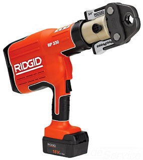 RIDGID 27923 BATTERY POWERED PRESS TOOL WITH PROPRESS 1/2 - 2 JAWS