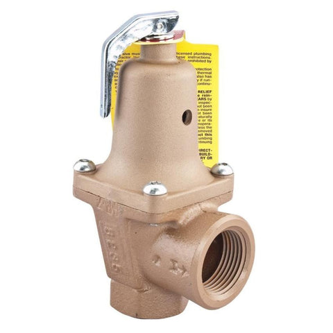 WATTS 740-030 0383020 11/4 TXT IRON BODY 30PSI BOILER PRESSURE RELIEF VALVE ASME
