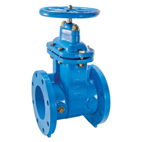 WATTS 405-NRS-RW 0700105 4 FLG EPOXY COATED CAST IRON NON-RISING STEM RESILIENT WEDGE GATE VALVE
