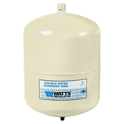 WATTS PLT-5 0067370 3/4 M ALMOND 2.1 GALLON POTABLE WATER EXPANSION TANK