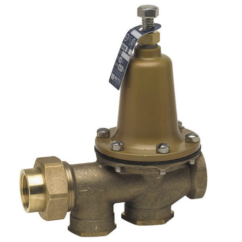WATTS LF25AUB-Z3 0009465 2 TXT BRONZE 25-75PSI WATER PRESSURE REDUCING VALVE SET AT 50PSI LEAD FREE