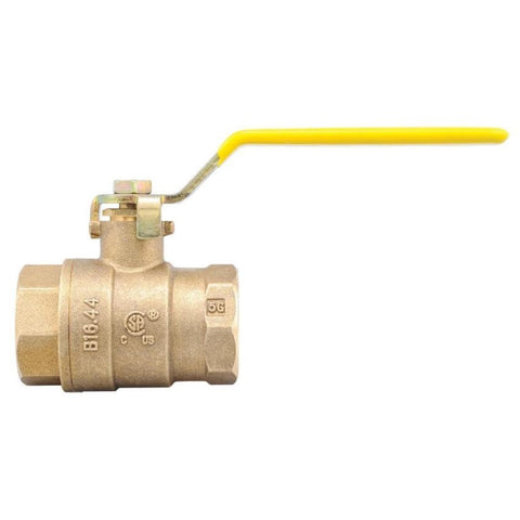 WATTS LFFBVS-4 2 1/2 0555134 21/2 SWT BRASS 2 PIECE FULL PORT BALL VALVE WITH LEVER HANDLE LEAD FREE