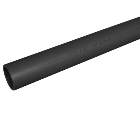11/4X20 SCHEDULE 80 PLAIN END PVC GREY PLASTIC PIPE