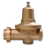 WILKINS 500XL 3 FIP UNIONXFIP BRONZE 25-75PSI SET AT 50PSI PRESSURE REDUCING VALVE LEAD FREE