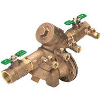 WILKINS 975XL2 1-1/2 FIPXFIP BRONZE 175PSI REDUCED PRESSURE PRINCIPLE ASSEMBLY WITH BALL VALVES LEAD FREE