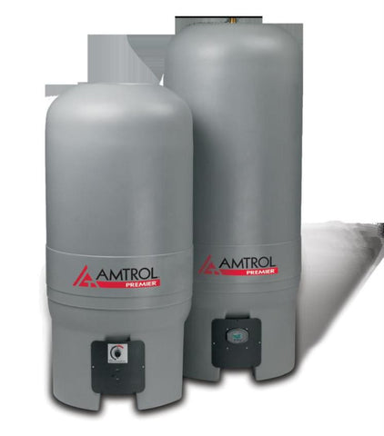 AMTROL WH-41Z-B 41GAL BOTTOM CONNECTION BLUE BOILERMATE HDPE LINED MECHANICAL TEMPERATURE CONTROL INDIRECT-FIRED WATER HEATER