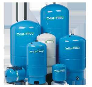 AMTROL WX-202D-G 150 PSI 20GAL GRAY WELL-X-TROL STEEL VERTICAL DIAPHRAGM TYPE WELL TANK WITH DURABASE STAND