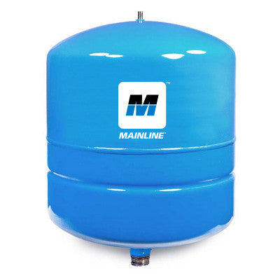 MAINLINE MLWI2 3/4 MALE 2 GALLON BLUE INLINE WELL TANK