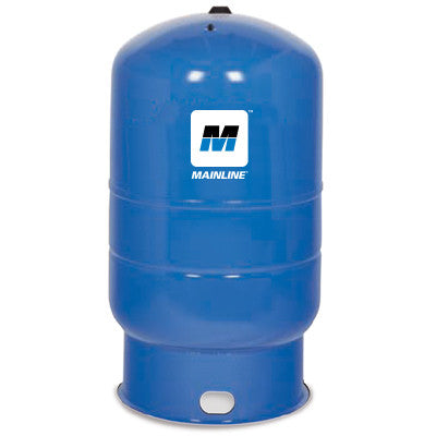 MAINLINE MLWF86 11/4 FEMALE 86 GALLON BLUE SHORT FLOOR WELL TANK