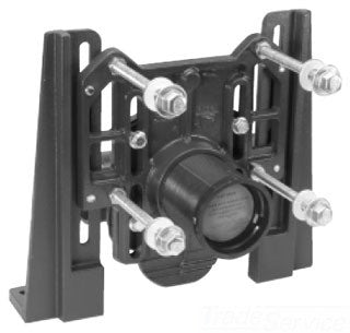 ZURN Z1203-ND4 4 NO HUB DURA-COATED CAST IRON ADJUSTABLE HORIZONTAL SIPHON JET WITH BACK TO BACK INLET