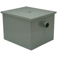 ZURN GT2700-100-4IP 4 THREAD 100 GALLON PER MINUTE GREASE TRAP WITH FLOW CONTROL