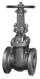 POWELL 2456-6IN CF8M FLGD GV GATE VALVE