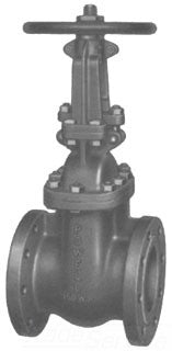 POWELL 2456-14IN CF8M FLGD GV GATE VALVE