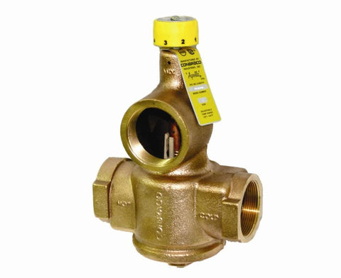 APOLLO 34C10601 1-1/4 FIP BRONZE 150PSI 90-140 DEGREE COMMERICAL MIXING VALVE ASSE 1017 CERTIFIED